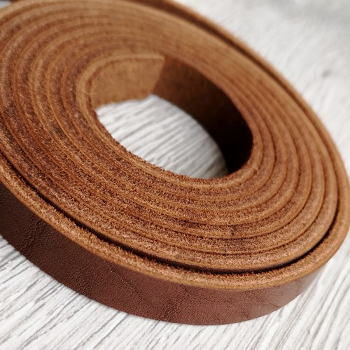 Полоса из натуральной кожи 10.0 х 2.0 мм | Коричневый