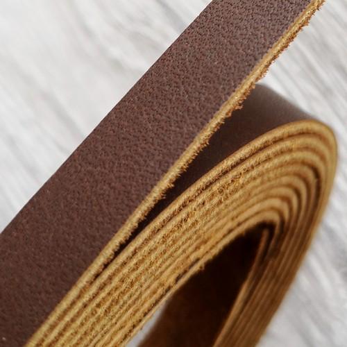 Полоса из натуральной кожи 10.0 х 2.0 мм | Темно-коричневый