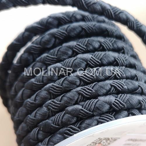∅3.0 - М222 - Шелковый плетеный шнур | Черный