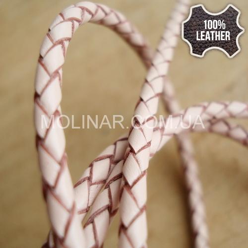 ∅3.0 Кожаный плетеный шнур (Krast) | Powder
