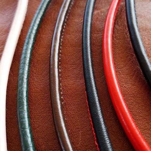 ∅5.0 Кожаный шнурок прошитый Nappa (Krast) | Под заказ