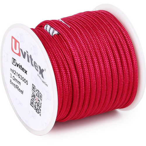 ∅3.0 - М216 - Шелковый плетеный шнур | Цвет 05