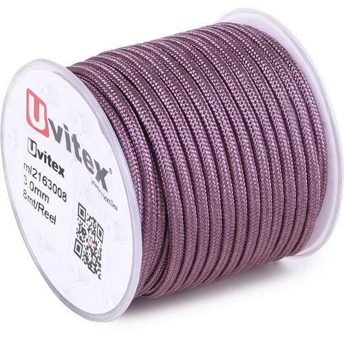 ∅3.0 - М216 - Шелковый плетеный шнур | Цвет 08