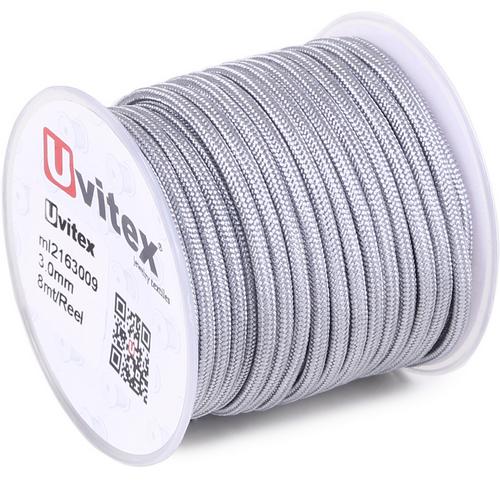 ∅3.0 - М216 - Шелковый плетеный шнур | Цвет 09