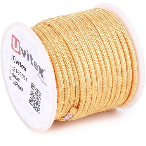 ∅3.0 - М216 - Шелковый плетеный шнур | Цвет 11