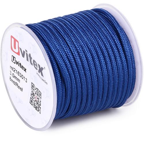 ∅3.0 - М216 - Шелковый плетеный шнур | Цвет 13