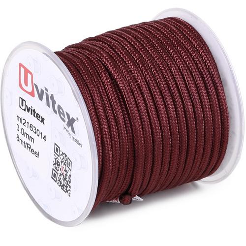 ∅3.0 - М216 - Шелковый плетеный шнур | Цвет 14