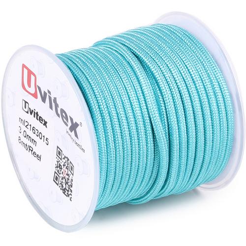 ∅3.0 - М216 - Шелковый плетеный шнур | Цвет 15