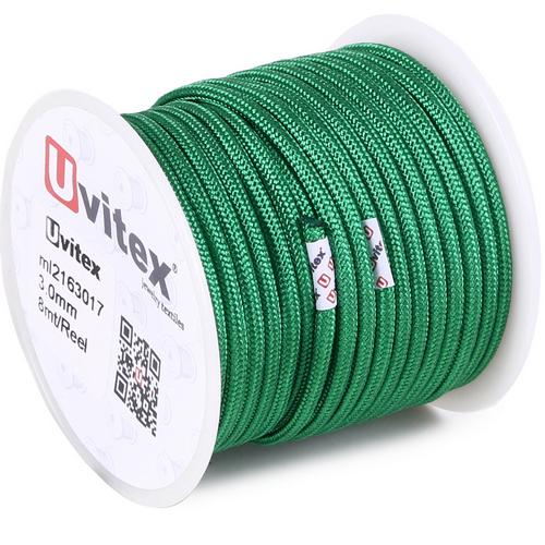 ∅3.0 - М216 - Шелковый плетеный шнур | Цвет 17