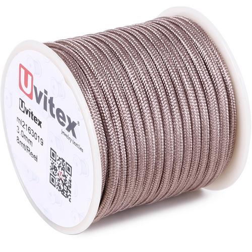 ∅3.0 - М216 - Шелковый плетеный шнур | Цвет 19