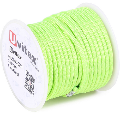 ∅3.0 - М216 - Шелковый плетеный шнур | Цвет 20