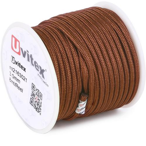 ∅3.0 - М216 - Шелковый плетеный шнур | Цвет 21