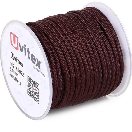 ∅3.0 - М216 - Шелковый плетеный шнур | Цвет 22