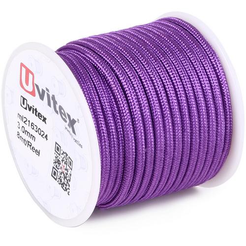 ∅3.0 - М216 - Шелковый плетеный шнур | Цвет 24