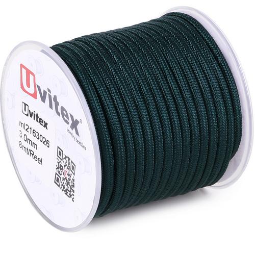 ∅3.0 - М216 - Шелковый плетеный шнур | Цвет 26