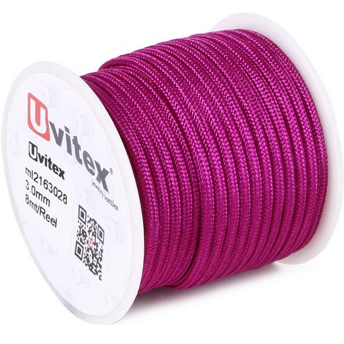 ∅3.0 - М216 - Шелковый плетеный шнур | Цвет 28