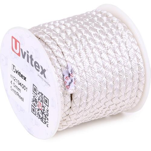 ∅4.0 - М2016 - Шелковый плетеный шнур   Цвет 01