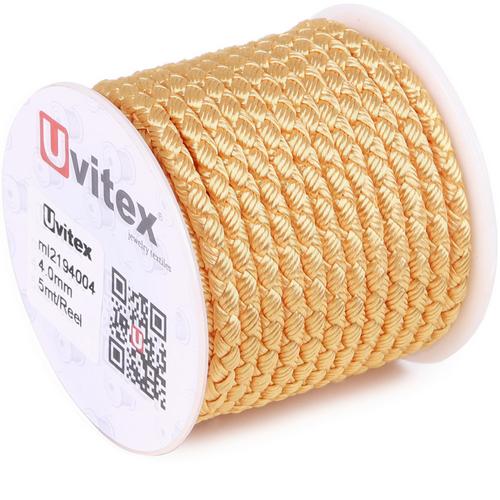 ∅4.0 - М2016 - Шелковый плетеный шнур | Цвет 04