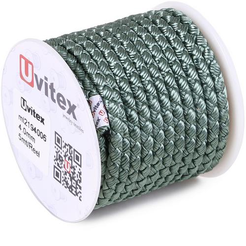 ∅4.0 - М2016 - Шелковый плетеный шнур | Цвет 06