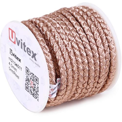 ∅4.0 - М2016 - Шелковый плетеный шнур   Цвет 11