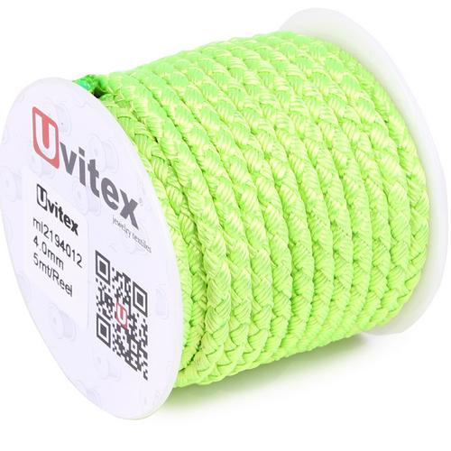 ∅4.0 - М2016 - Шелковый плетеный шнур | Цвет 12