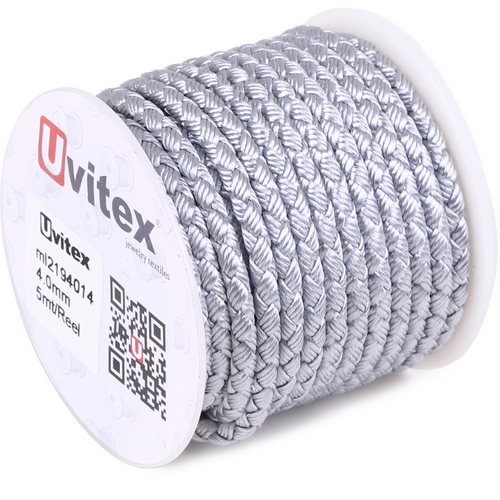 ∅4.0 - М2016 - Шелковый плетеный шнур | Цвет 14