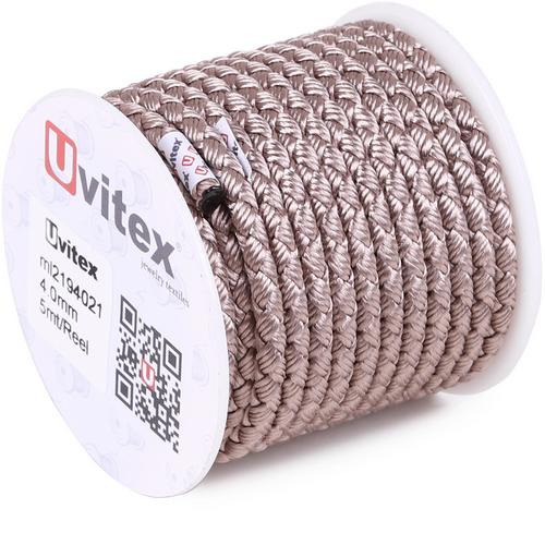 ∅4.0 - М2016 - Шелковый плетеный шнур | Цвет 21
