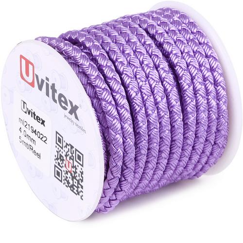 ∅4.0 - М2016 - Шелковый плетеный шнур | Цвет 22