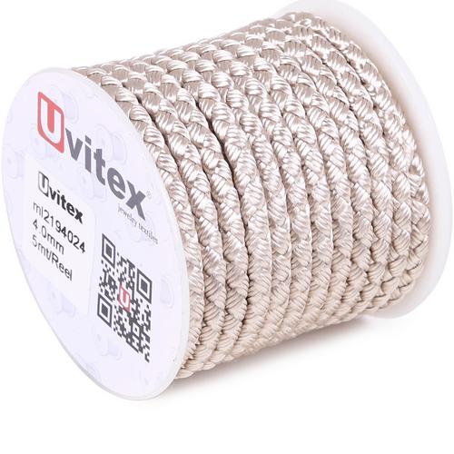 ∅4.0 - М2016 - Шелковый плетеный шнур   Цвет 24
