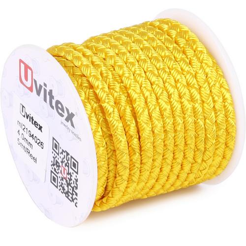 ∅4.0 - М2016 - Шелковый плетеный шнур | Цвет 26