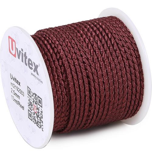 ∅2.0 - М2016 - Шелковый плетеный шнур | Цвет 03