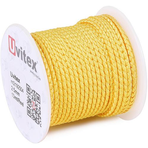 ∅2.0 - М2016 - Шелковый плетеный шнур | Цвет 04