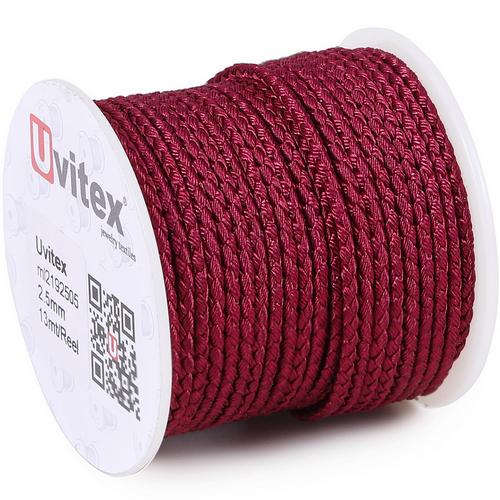 ∅3.0 - М2016 - Шелковый плетеный шнур | Цвет 05