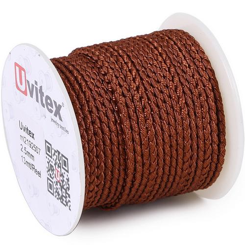 ∅2.0 - М2016 - Шелковый плетеный шнур | Цвет 07
