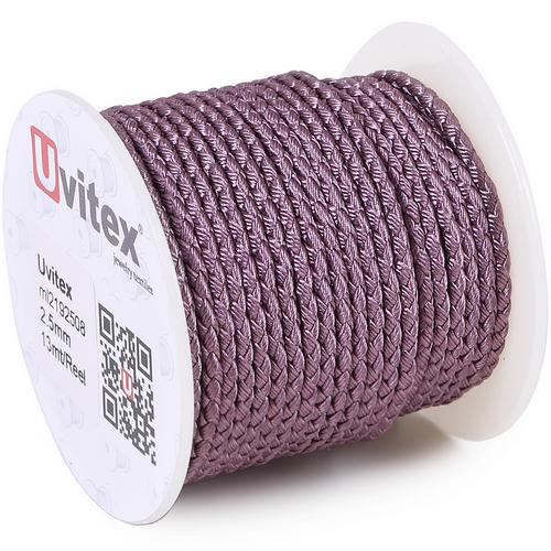 ∅2.5 - М2016 - Шелковый плетеный шнур | Цвет 08