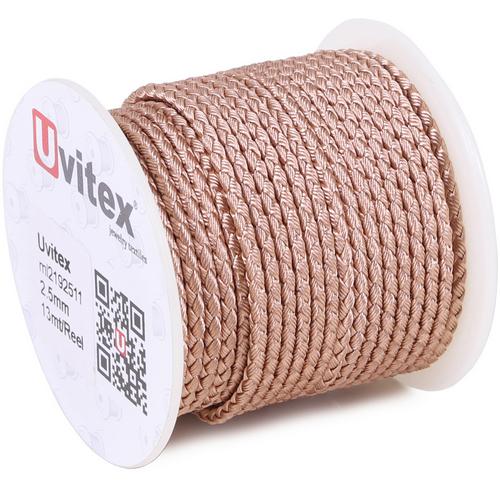 ∅2.5 - М2016 - Шелковый плетеный шнур | Цвет 11