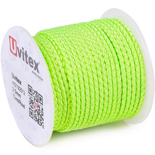 ∅3.0 - М2016 - Шелковый плетеный шнур | Цвет 12