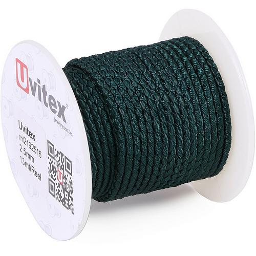 ∅2.5 - М2016 - Шелковый плетеный шнур | Цвет 16