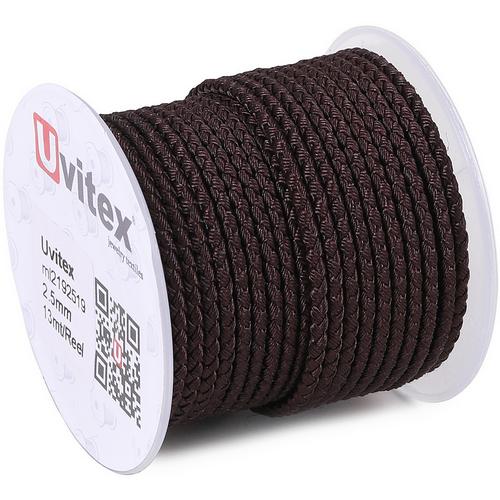 ∅3.0 - М2016 - Шелковый плетеный шнур | Цвет 19