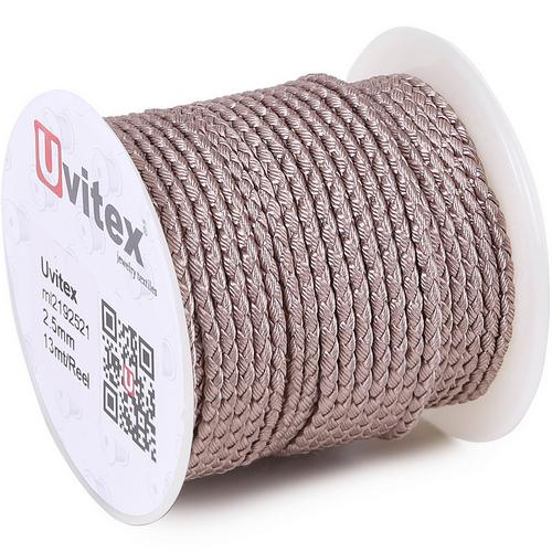 ∅3.0 - М2016 - Шелковый плетеный шнур | Цвет 21