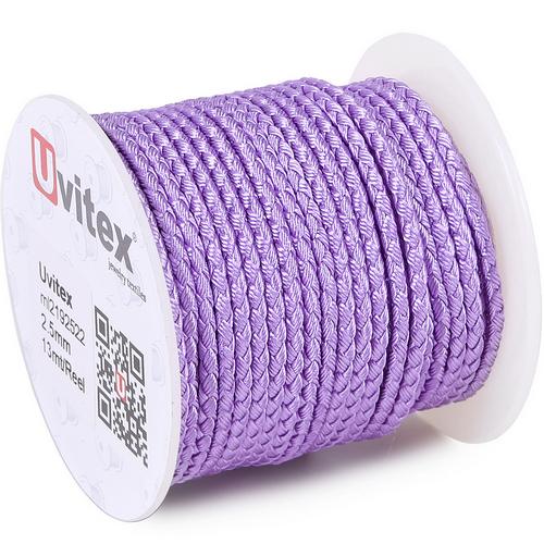 ∅2.5 - М2016 - Шелковый плетеный шнур | Цвет 22