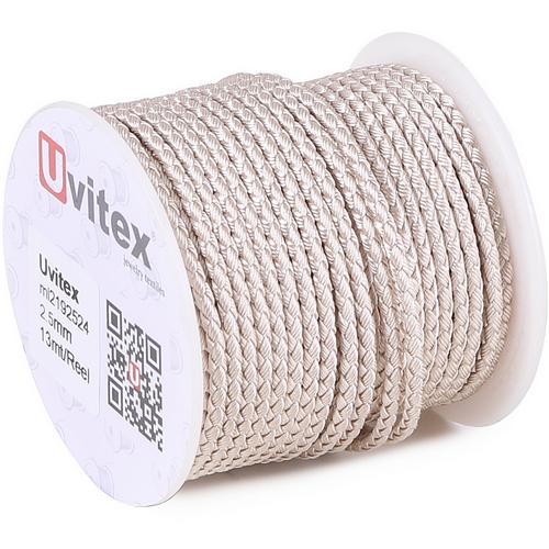 ∅2.5 - М2016 - Шелковый плетеный шнур | Цвет 24