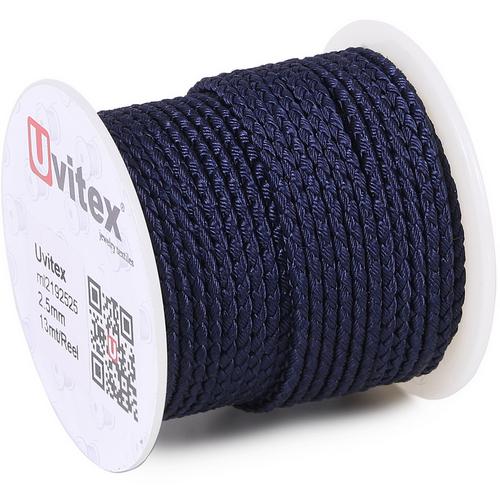 ∅2.5 - М2016 - Шелковый плетеный шнур | Цвет 25