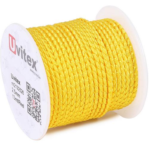 ∅2.5 - М2016 - Шелковый плетеный шнур | Цвет 26
