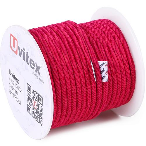 ∅3.0 - М221 - Шелковый плетеный шнур | Цвет 02