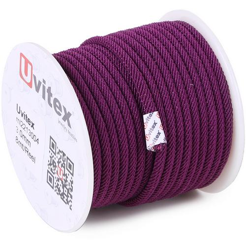∅3.0 - М221 - Шелковый плетеный шнур | Цвет 04