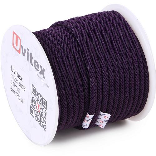 ∅3.0 - М221 - Шелковый плетеный шнур | Цвет 05