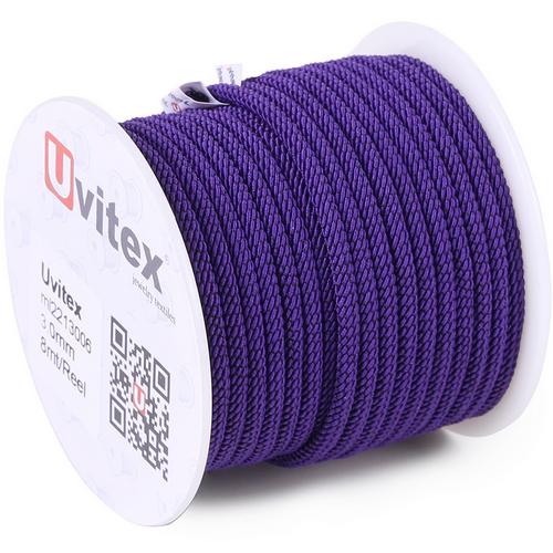 ∅3.0 - М221 - Шелковый плетеный шнур | Цвет 06