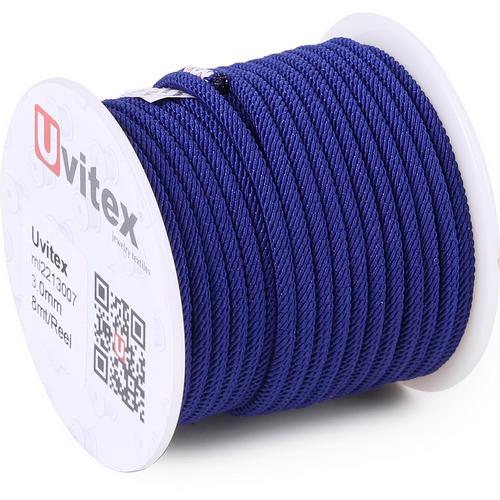 ∅3.0 - М221 - Шелковый плетеный шнур | Цвет 07