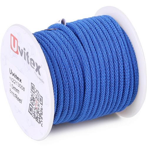 ∅3.0 - М221 - Шелковый плетеный шнур | Цвет 08